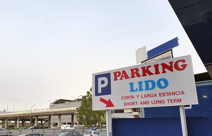 Entrada Parking Lido